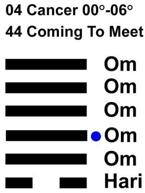IC-chant 04CN 01 Hx-44 Coming To Meet-L3