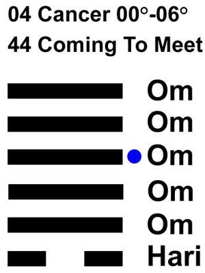 IC-chant 04CN 01 Hx-44 Coming To Meet-L4
