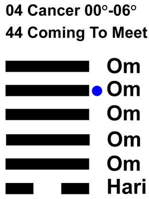 IC-chant 04CN 01 Hx-44 Coming To Meet-L5