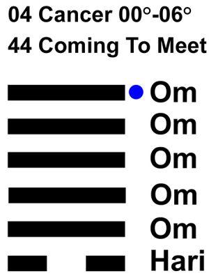 IC-chant 04CN 01 Hx-44 Coming To Meet-L6
