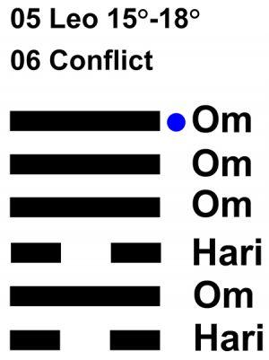 IC-chant 05LE 04 Hx-6 Conflict-L6