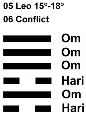 IC-chant 05LE 04 Hx-6 Conflict