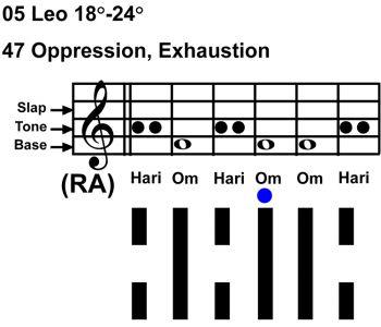 IC-chant 05LE 05 Hx-47 Oppression-scl-L4