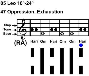 IC-chant 05LE 05 Hx-47 Oppression-scl-L6