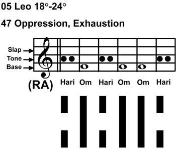 IC-chant 05LE 05 Hx-47 Oppression-scl