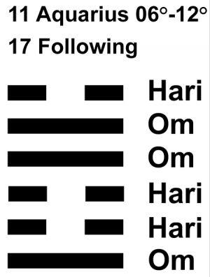 IC-chant 11AQ-02-Hx17 Following