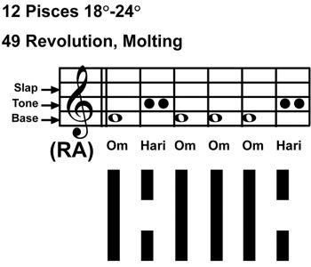 IC-chant 12PI-04-Hx49 Revolution, Molting-scl